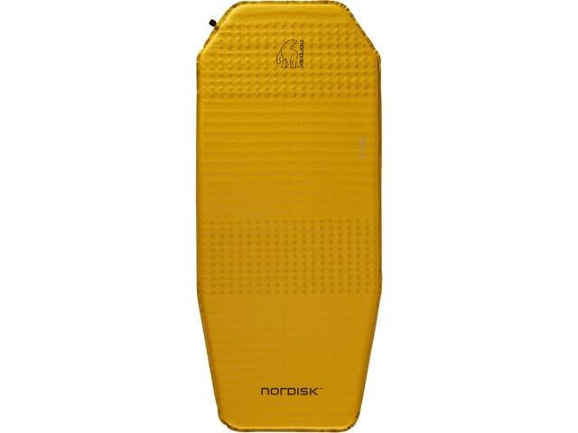 Nordisk Ven 2.5 Itsestääntäyttyvä Makuualusta, mustard yellow/black